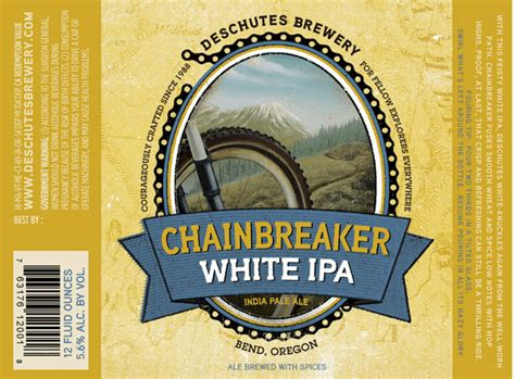 deschutes chainbreaker white ipa beerpulse