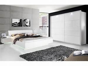 Möbel Schlafzimmer Komplett : silent komplett schlafzimmer weiss hochglanz 4 teilig 200 cm ~ Markanthonyermac.com Haus und Dekorationen
