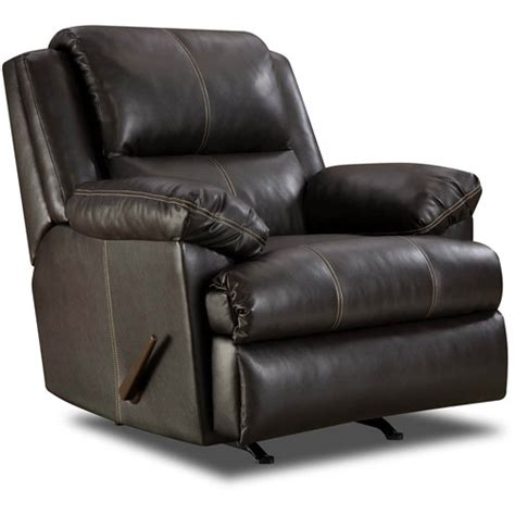 Recliner Chair Walmart by Simmons Bonded Leather Rocker Recliner Furniture