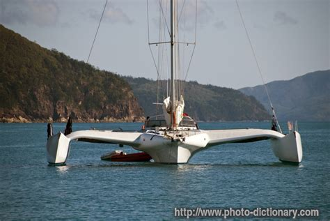 Trimaran English by Trimaran Photo Picture Definition At Photo Dictionary