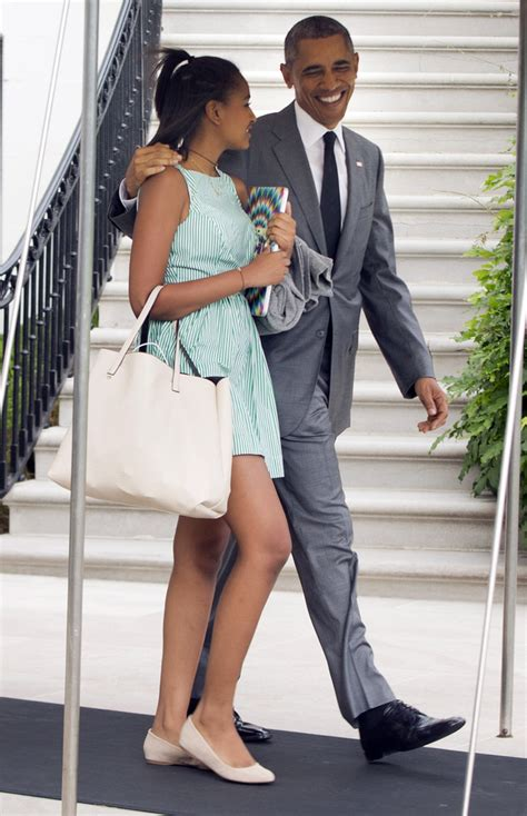 It's A Daddaughter Overnighter In New York For The Obamas