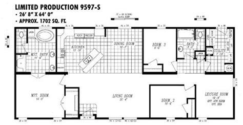 metal 40x60 homes floor plans 9597 s floorplan preview