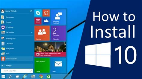 How To Install Windows 10 On Your Pc!  Youtube