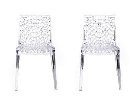chaise tissu cuir simili blanche pas cher large choix