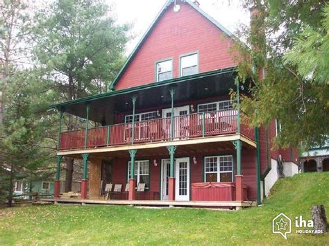 chalet for rent in mont tremblant iha 78100