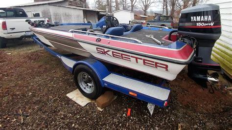 Skeeter Bass Boat Youtube by 1991 Skeeter Sf175sf Youtube