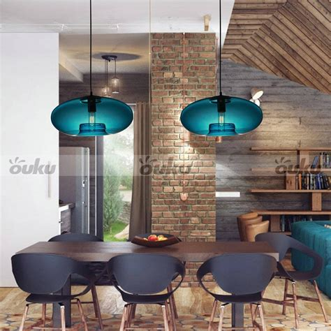 15 Ideas Of Turquoise Blue Glass Pendant Lights