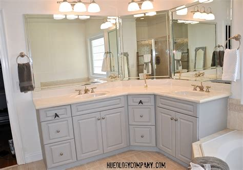Painting Bathroom Cabinets Top Mount Apron Front Kitchen Sink Stainless Steel Gauge Sealing Black Sinks Uk Overstock Replacing Plumbing Mini Barn Style