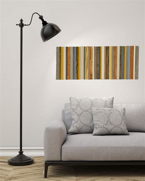 Reclaimed Wood Art, Modern Office Decor, Reclaimed Wood