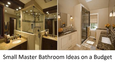 Bathroom Ideas On A Budget by Awesome Small Master Bathroom Ideas On A Budget