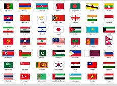 Design elements Asia flags Flags Stencils library