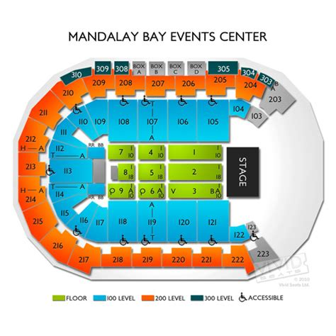mandalay bay arena floor plan floor matttroy