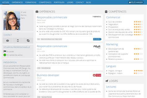 3 outils en ligne pour cr 233 er un joli cv reso le
