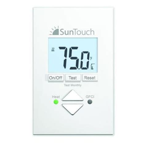 suntouch floor warming sunstat non programmable floor