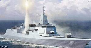 China's biggest ever stealth warship takes shape | Daily ...