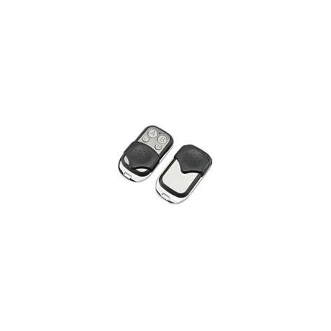 telecommande universelle 433 mhz porte de garage portail alarme 4 boutons hdline