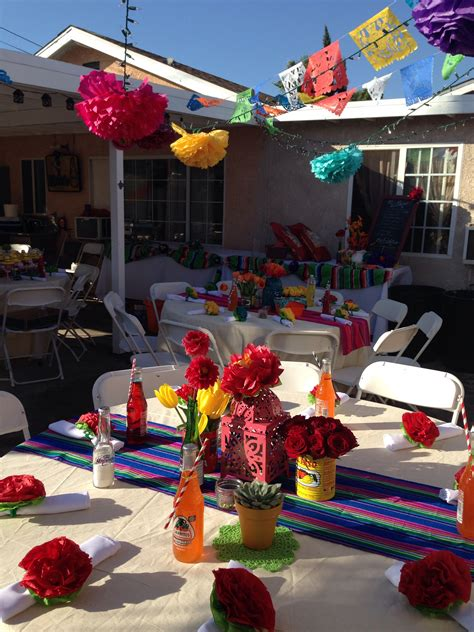 40th Birthday Mexican Fiesta Party  Being Creative