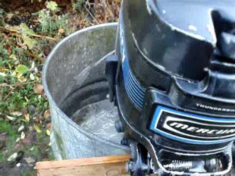 Buitenboordmotor Reviseren by Mercury 20 Pk Youtube