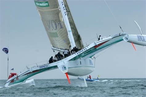 Catamaran Flying Hull by Foncia Flying Two Hulls On The Water Pinterest