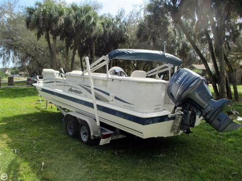 Hurricane Fun Deck Boats Used by 2006 Used Hurricane 226re Fun Deck Fishing Deck Boat For