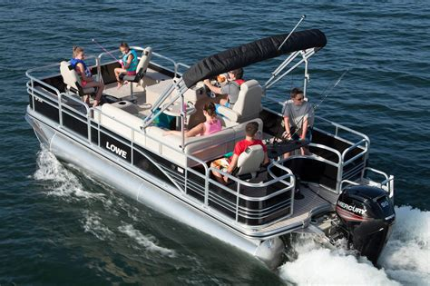 Fishing Boat For Sale Honolulu by 2016 New Lowe Sf214 Sport Fish Pontoon Boat For Sale