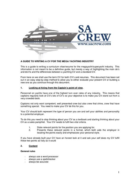 Boat Yacht Captain Jobs by Boat Captain Resume Resume Ideas