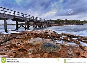 Ocean Bare Bridge sunrise