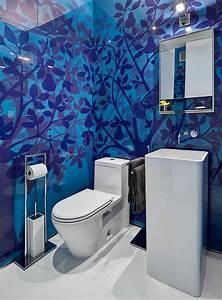 Wandgestaltung Gäste Wc : g ste wc design 17 ideen f r ein einzigartiges ambiente ~ Markanthonyermac.com Haus und Dekorationen