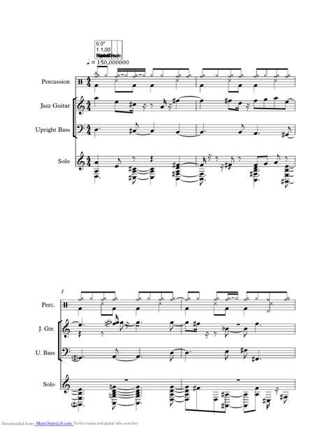 lakes sheet and notes by pat metheny musicnoteslib