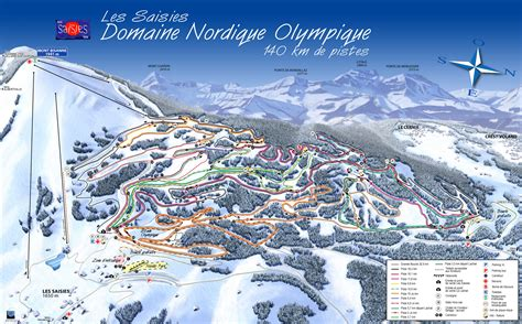 station de ski les saisies alpes du nord savoie vacances