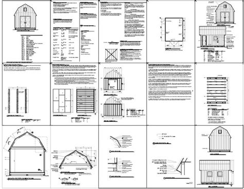 kelana plans for 16x20 shed