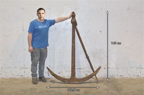 Old Boat Anchor Ebay by Large Iron Boat Fisherman Anchor Old Antique Ship Boat
