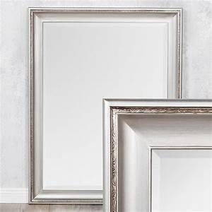 Wandspiegel Antik Silber : spiegel copia 70x50cm silber antik wandspiegel barock 3560 ~ Whattoseeinmadrid.com Haus und Dekorationen