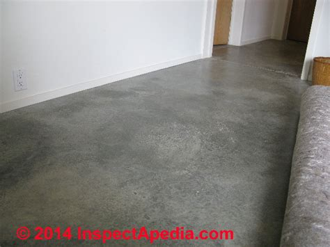 stains on concrete identification of types sources of