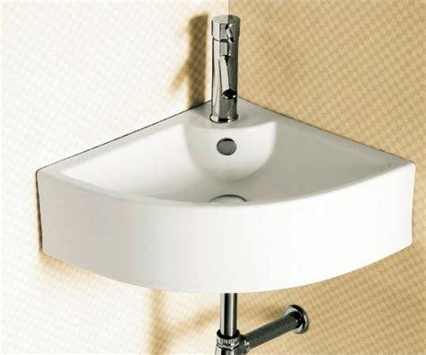 Wall Mounted Corner Bathroom Sink By Caracalla