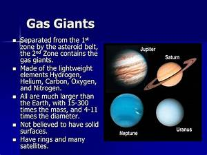 The Outer Planets. - ppt download