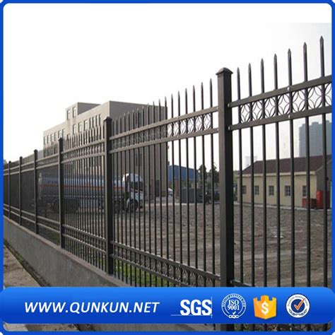 European Style Garden Zone Fence Galvanized Powder Coated