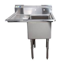 left drainboard regency 38 1 2 quot 16 stainless steel