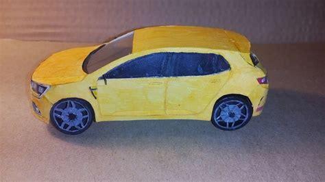 Renault Megane R.s. 2018 [papírový Model/paper Model 1