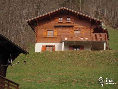 chalet for rent in gervais les bains iha 76332