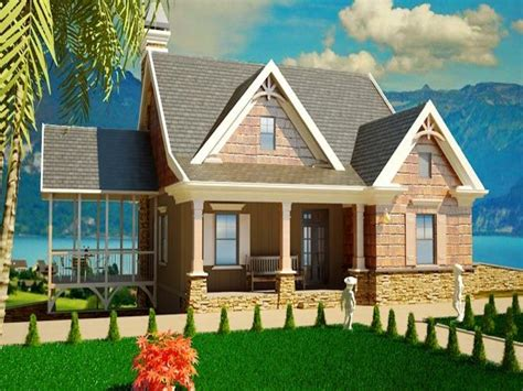 Small Cottage House Plans With Porches Southern Cottage