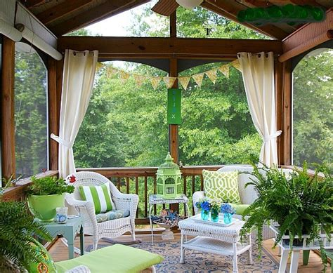 screened in patio decorating ideas