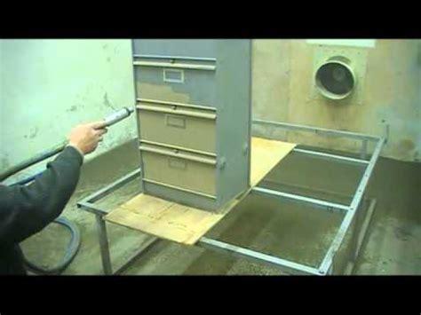 Decapage Meuble Metallique Par Aerogommage Youtube