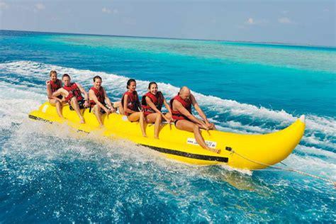 Boats And Watersports by Watersports Water Sports Dubai Donut Ride Dubai Banana