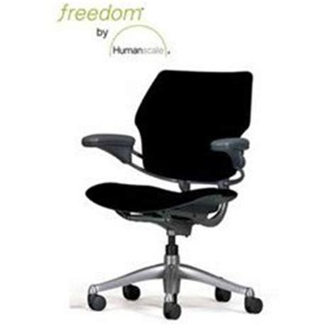 humanscale freedom chair armrests gel seat