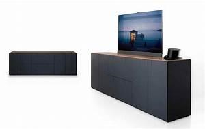 Kommode Fernseher Versenkbar : modulm bel balance versteckt den fernseher bild 17 sch ner wohnen ~ Markanthonyermac.com Haus und Dekorationen