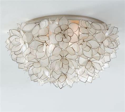 capiz oversize flushmount contemporary flush mount ceiling lighting sacramento by