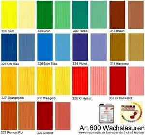 Holz Beizen Farben : wachslasur l semittelfreie farbige lasur leinos 600 ~ Markanthonyermac.com Haus und Dekorationen