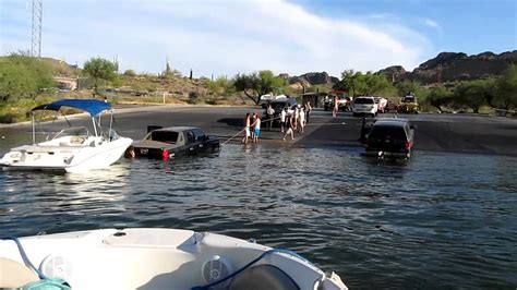 Boat R Closures Canyon Lake by Truck In Canyon Lake Az August 20 2011 Part 2 Youtube