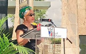 Lindiwe Hani pays tribute to Mama Winnie at her father's ...
